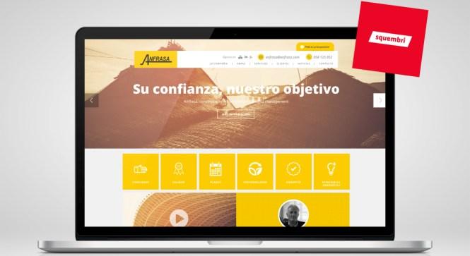 diseño web anfrasa squembri